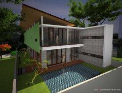 rumah modern unik