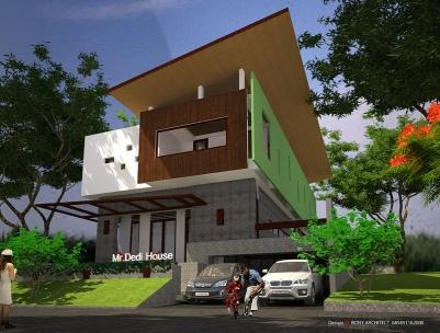 desain rumah unik 2 lantai ,Arsitek bandungArsitek Surabaya