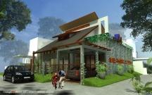 arsitek rumah energi listrik