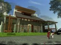 rumah tropis hemat energi