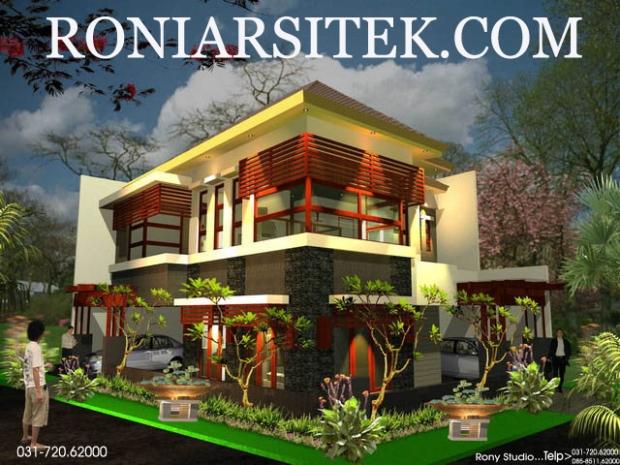 jasa gambar rumah murah pekanbaru