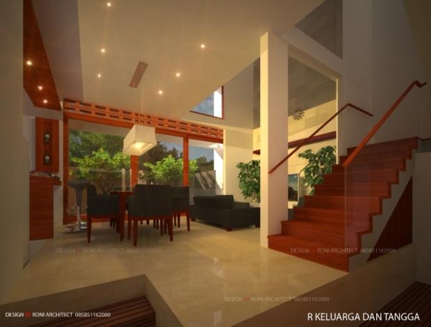 desain interior tema greend arsitektur
